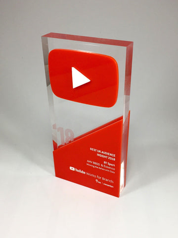 Red Youtube award