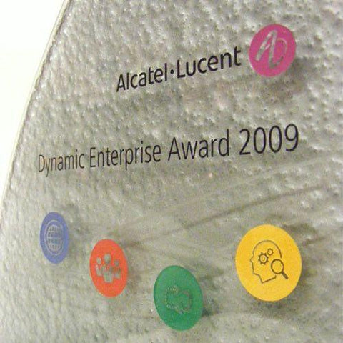 Alcatel Lucent Award Bespoke Mixed Media Awards Creative Awards