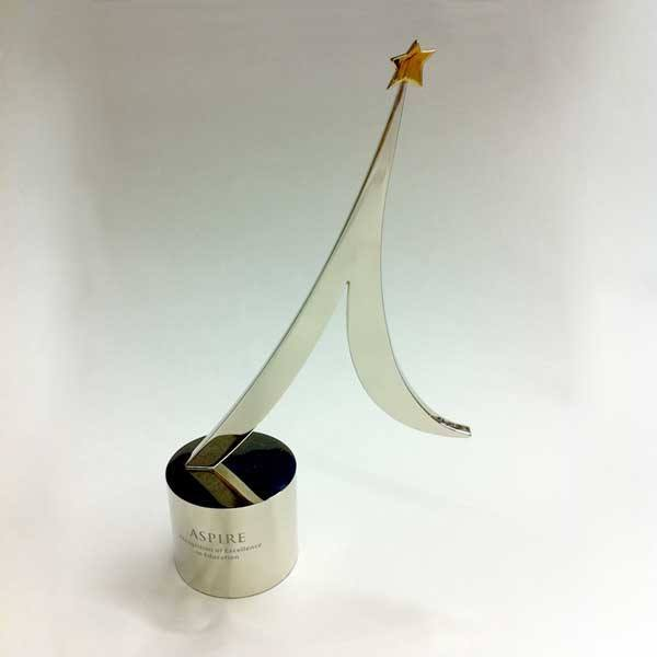 Aspire Metal Award Bespoke Metal Award Creative Awards