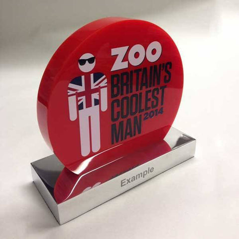 Zoo Awards Bespoke Acrylic Awards Creative Awards