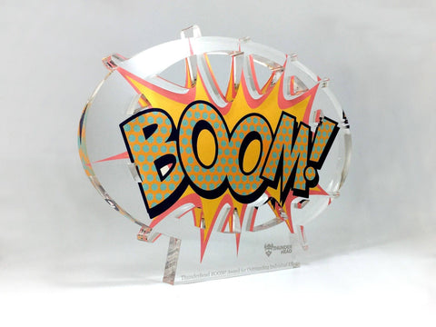 Boom Acrylic Awards