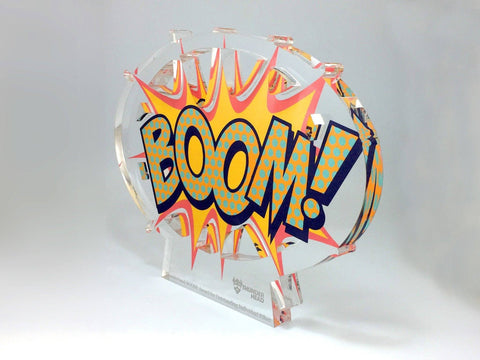 Boom Acrylic Awards Bespoke Acrylic Awards Creative Awards