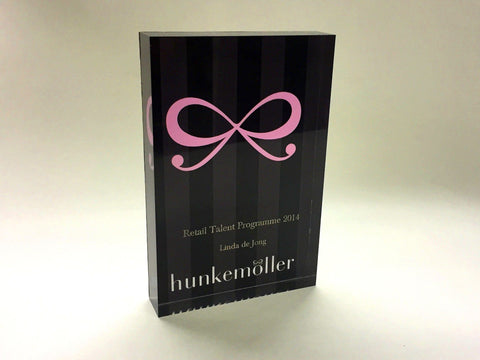 Hunkemöller Retail Awards Bespoke Acrylic Awards Creative Awards