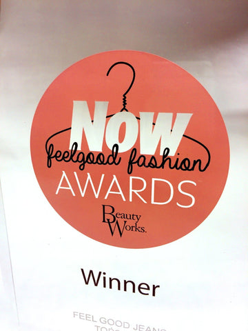 Bespoke Acrylic Awards - Now Feelgood Fashion Awards