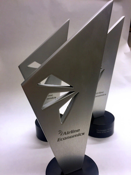 Aviation Award Bespoke Metal Award Creative Awards