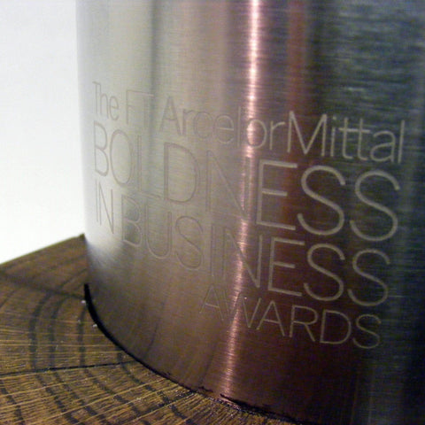 Bespoke Metal Award - Bold In Business Metal And Wood Awards