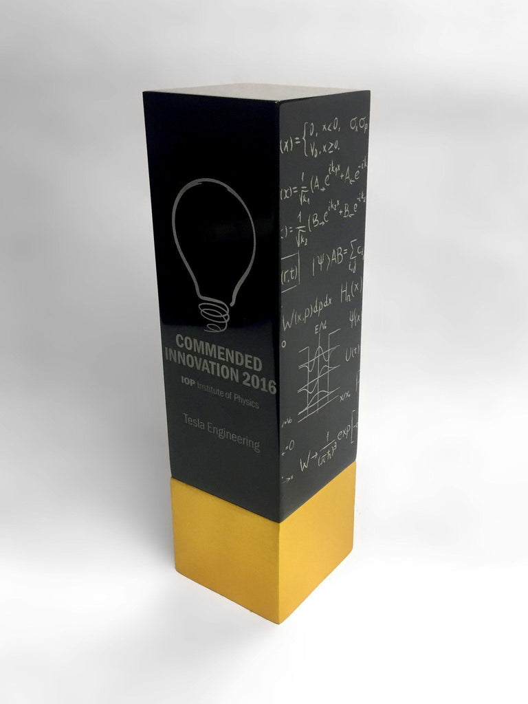 Institute of Physics Aluminium Awards Bespoke Metal Award Creative Awards