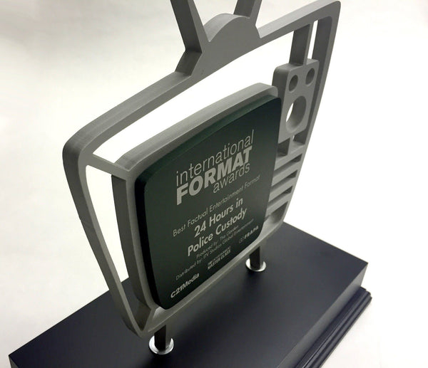 International TV Awards Bespoke Metal Award Creative Awards