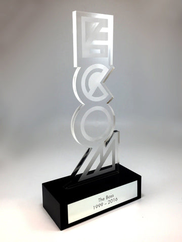 Acrylic Upright Award