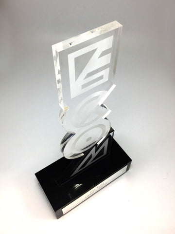Acrylic Upright Award Bespoke Mixed Media Awards Creative Awards