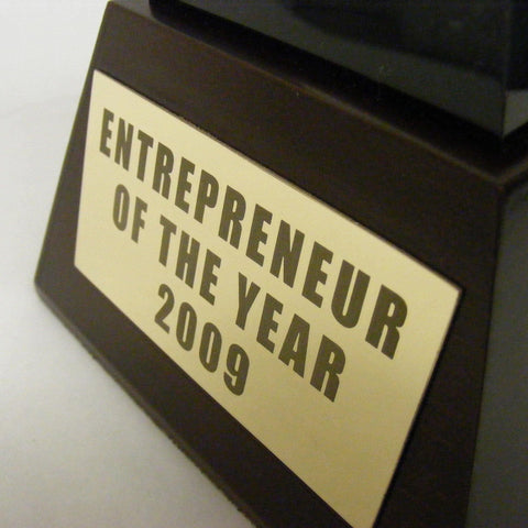Bespoke Mixed Media Awards - Entrepreneur Of The Year Award