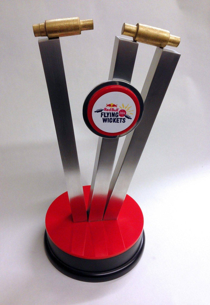 Bespoke Mixed Media Awards - Flying Wickets Aluminium And Perspex Award