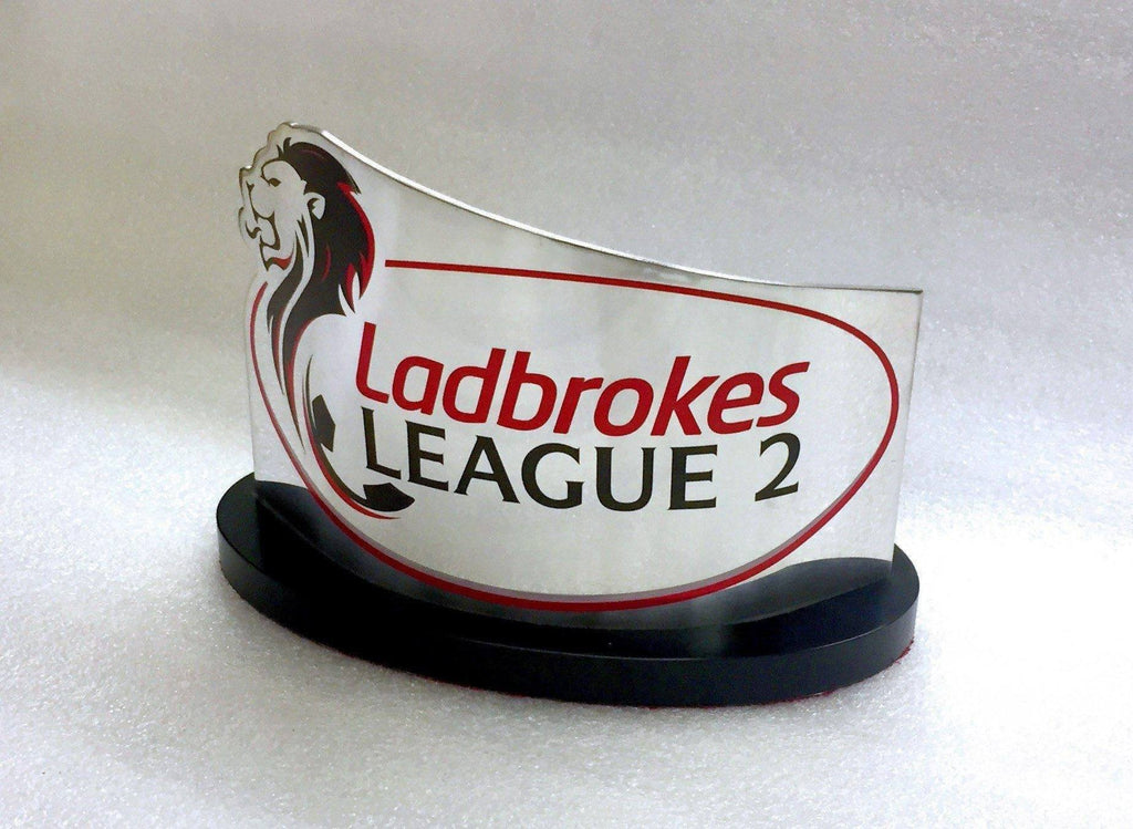 Ladbrokes League Award Bespoke Mixed Media Awards Creative Awards