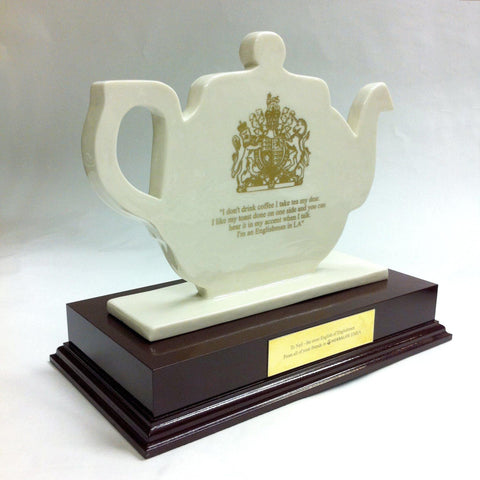 Porcelain Teapot Award Bespoke Mixed Media Awards Creative Awards