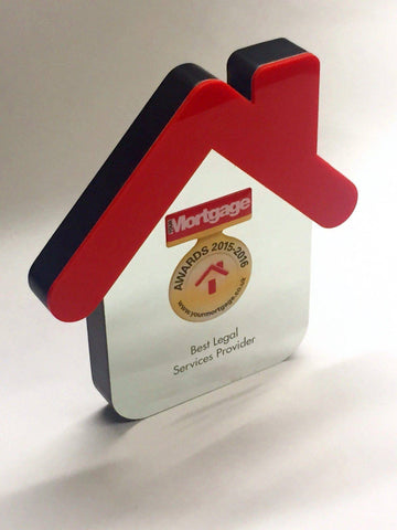 Bespoke Mixed Media Awards - Your Mortgage Awards