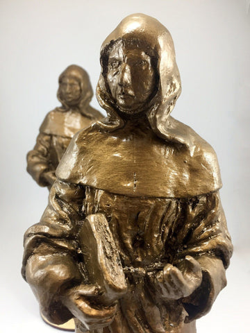 Monk Sculpture Bespoke Resin Awards Creative Awards