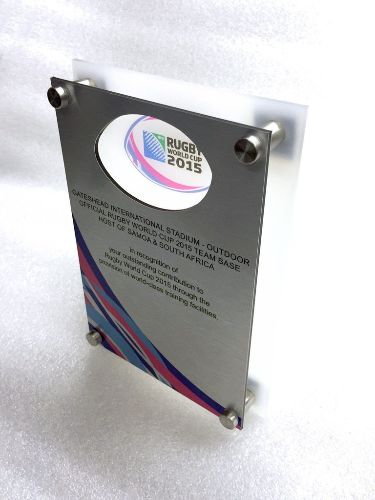 Rugby World Cup Plaque Creative Awards