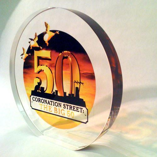 Coronation Street Award Bespoke Acrylic Awards Creative Awards