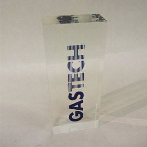 Gastech Acrylic Award Bespoke Acrylic Awards Creative Awards