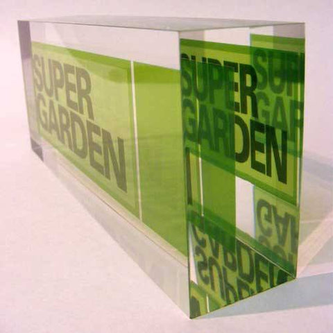 Super Garden Acrylic Award Bespoke Acrylic Awards Creative Awards