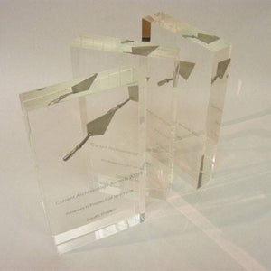 Archaeological Acrylic Award Bespoke Acrylic Awards Creative Awards