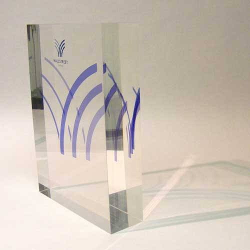 Wall Street Bespoke Acrylic Awards Creative Awards