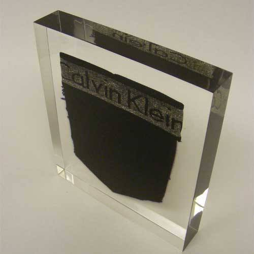 Calvin Klein Award Bespoke Acrylic Awards Creative Awards