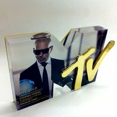 MTV Awards Bespoke Acrylic Awards Creative Awards
