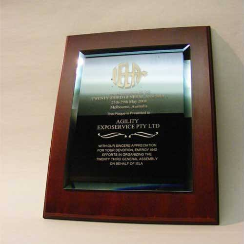 Black Mirror Plaque Bespoke Wall Plaques Creative Awards