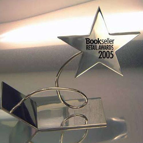Bookseller Award Bespoke Metal Award Creative Awards