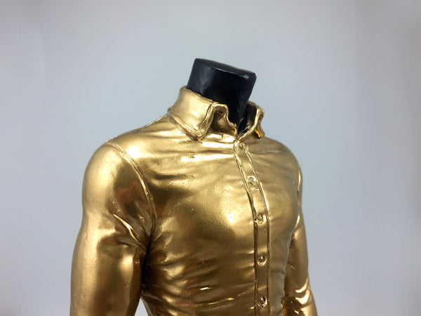 Cast Resin Gold Shirt Award Bespoke Resin Awards Creative Awards