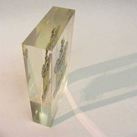 Loaded Magazine Acrylic Award Bespoke Acrylic Awards Creative Awards