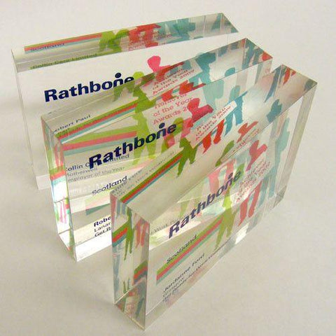 Rathbone Award Bespoke Acrylic Awards Creative Awards