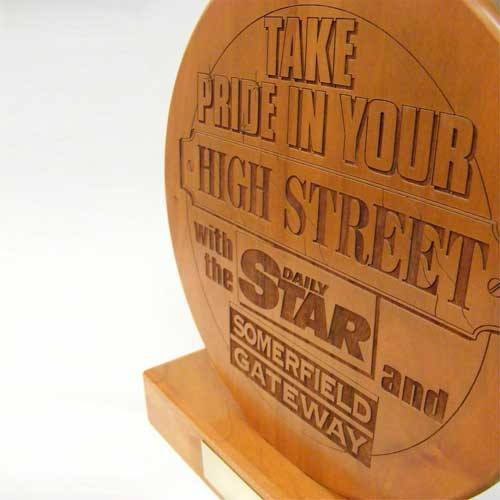 Daily Star Bespoke Wooden Awards Creative Awards