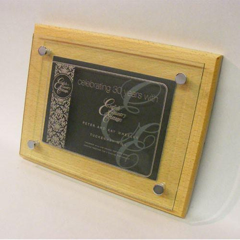 Double Sided Award Plaque