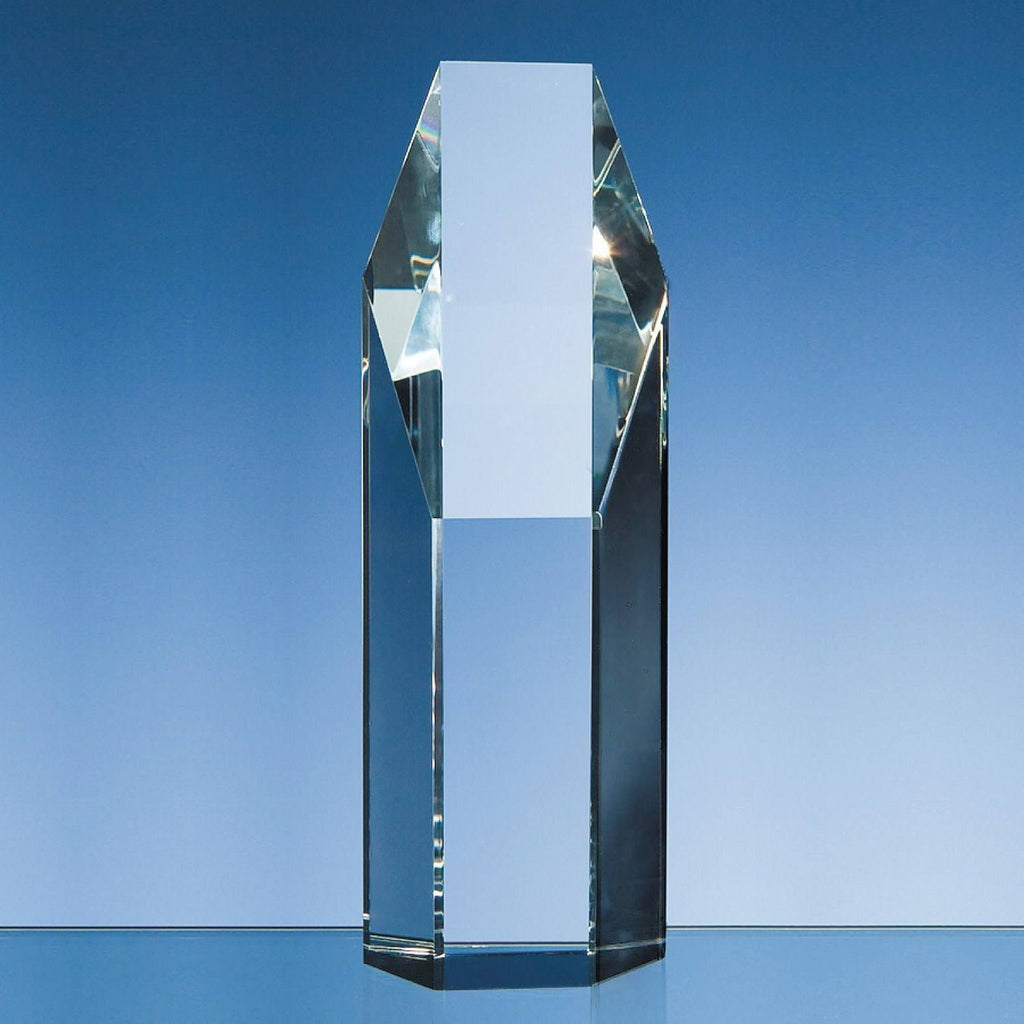 Crystal Hexagon Award Glass Awards Creative Awards