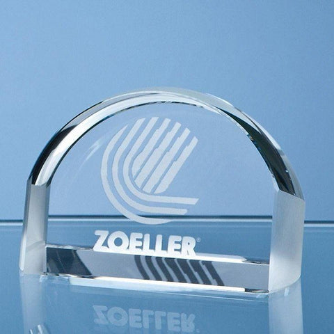 Crystal Magnifying Paperweight Award