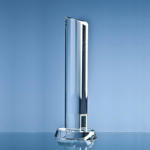 Crystal Oval Column Award