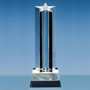 Five Pointed Star Column Glass Awards Creative Awards