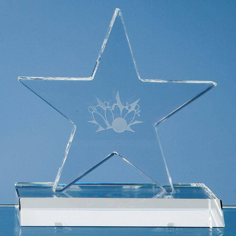 Five Pointed Star on Base Award