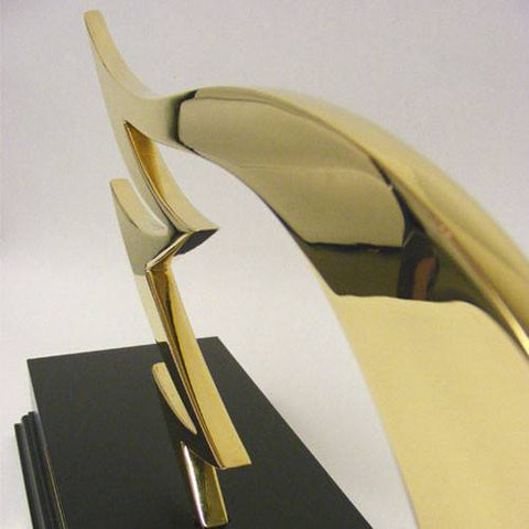 Golden Owl Award Bespoke Metal Award Creative Awards
