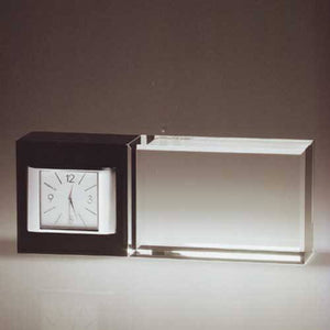 Horizontal Elite Desk Clock Corporate Jewellery and Gifts Creative Awards