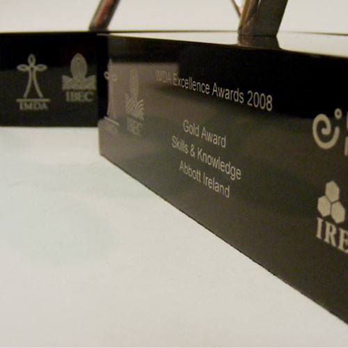 IBEC Award Bespoke Metal Award Creative Awards