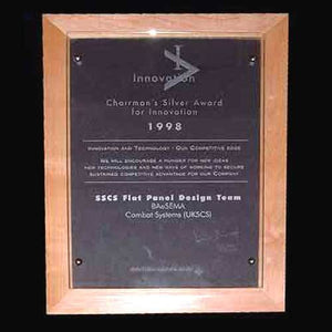 Innovation Plaque Bespoke Wall Plaques Creative Awards