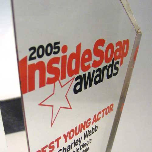 Inside Soap Awards Bespoke Mixed Media Awards Creative Awards