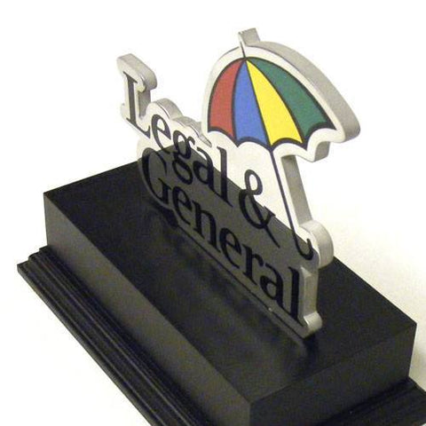 Legal & General Award Bespoke Metal Award Creative Awards