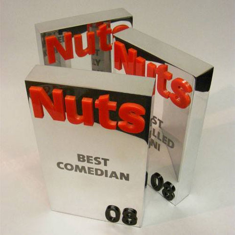Aluminium 'Nuts' Award Bespoke Mixed Media Awards Creative Awards