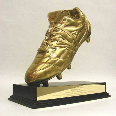 Rugby Golden Boot Award Bespoke Resin Awards Creative Awards
