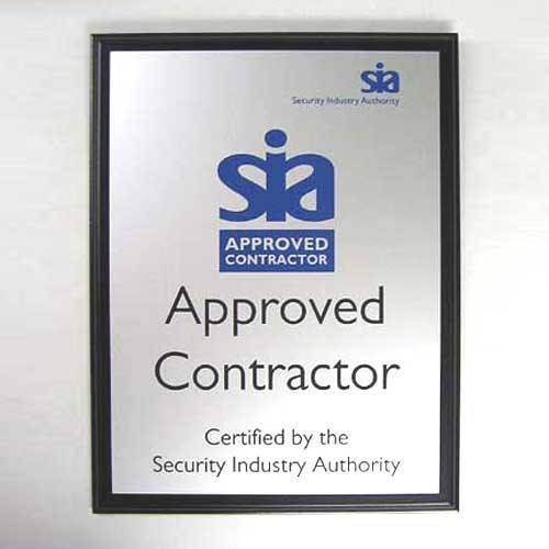 SIA Plaque Bespoke Wall Plaques Creative Awards