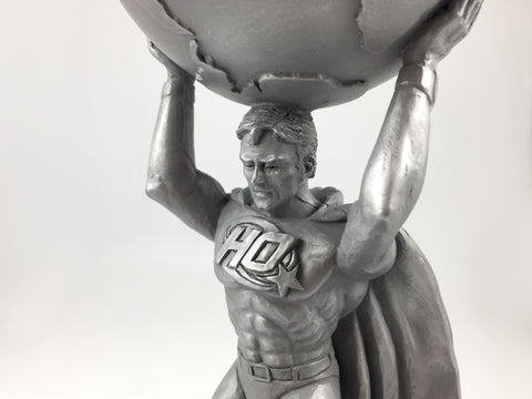 Superhero Resin Award